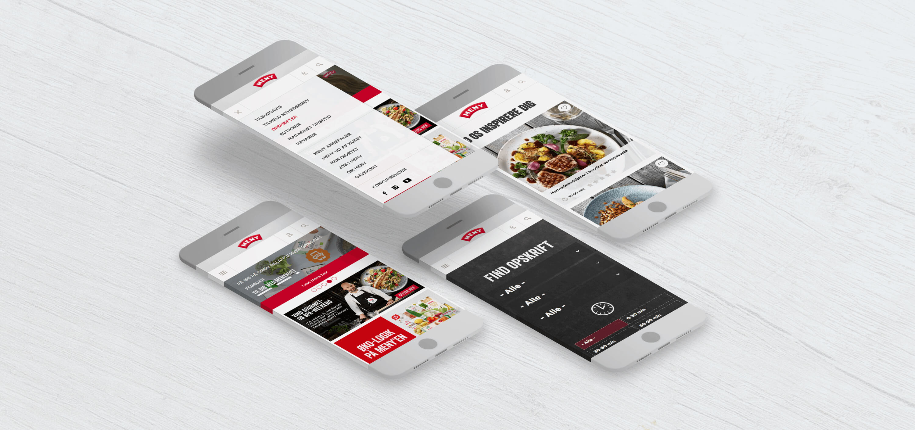 Image of Meny mobile design