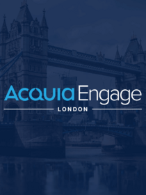 Teaser of Acquia Engage London blog
