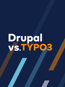 Teaser image of Drupal vs TYPO3 ebook